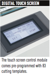 MBM Aerocut Digital Touch Screen