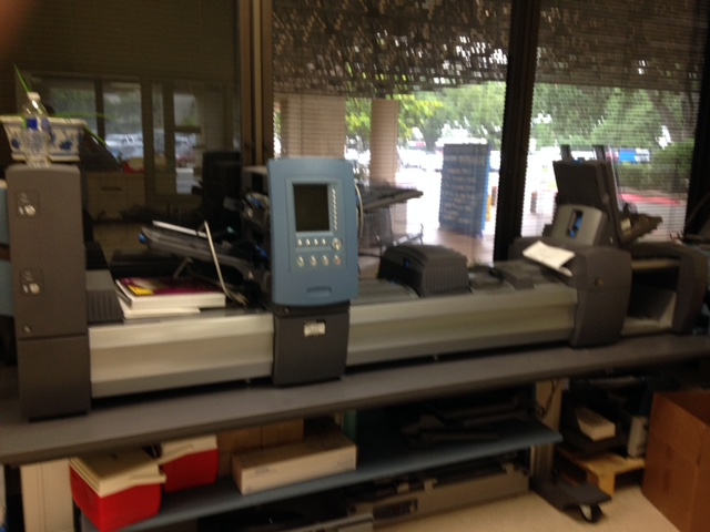 Pitney Bowes DI-950 Table Top Inserter 2
